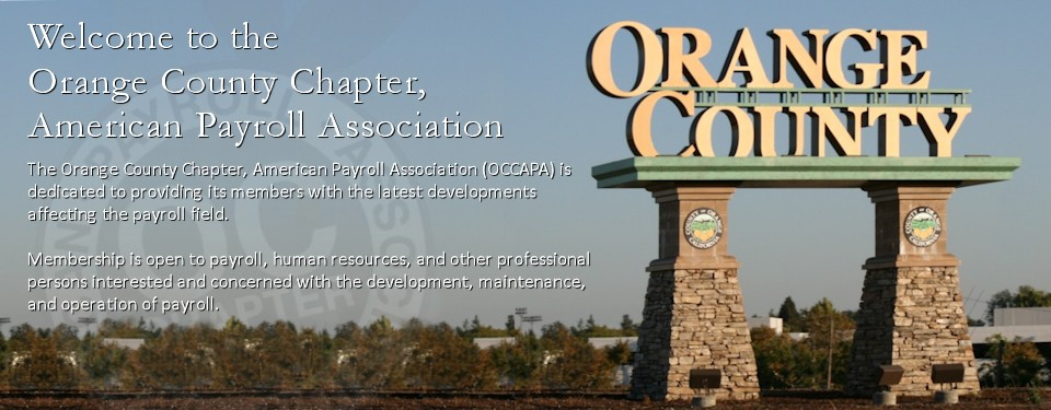 Orange County Chapter, American Payroll Association